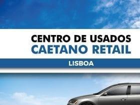 Centro de usados Caetano Retail em Lisboa