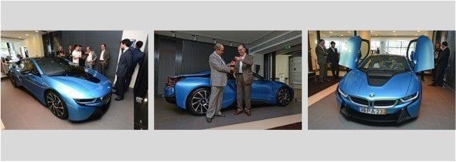 venda do primeiro BMW i8