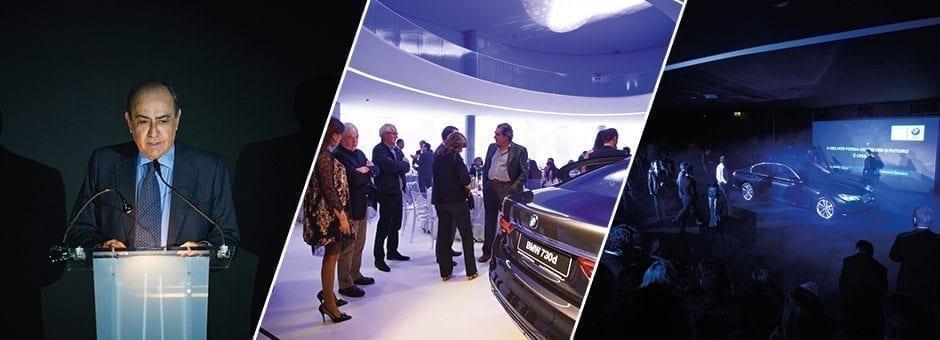 apresentação do BMW Série 7