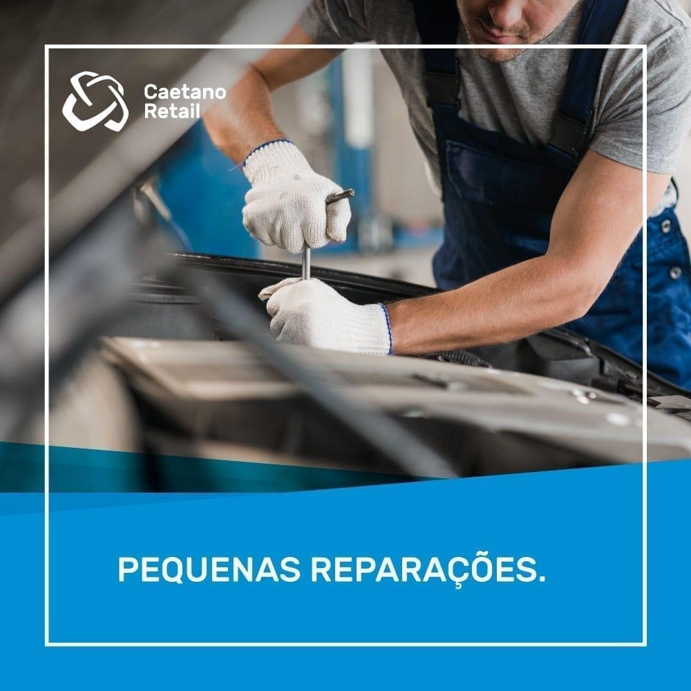 pequenas reparações automóveis da Caetano Retail