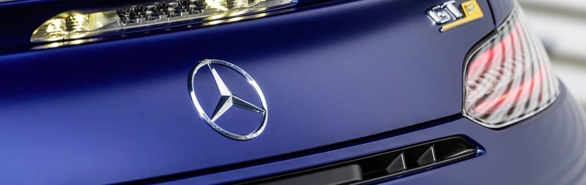 logótipo do Mercedes GTR