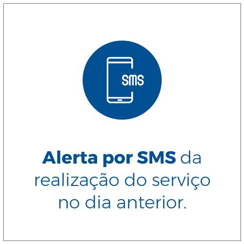 Alerta por SMS