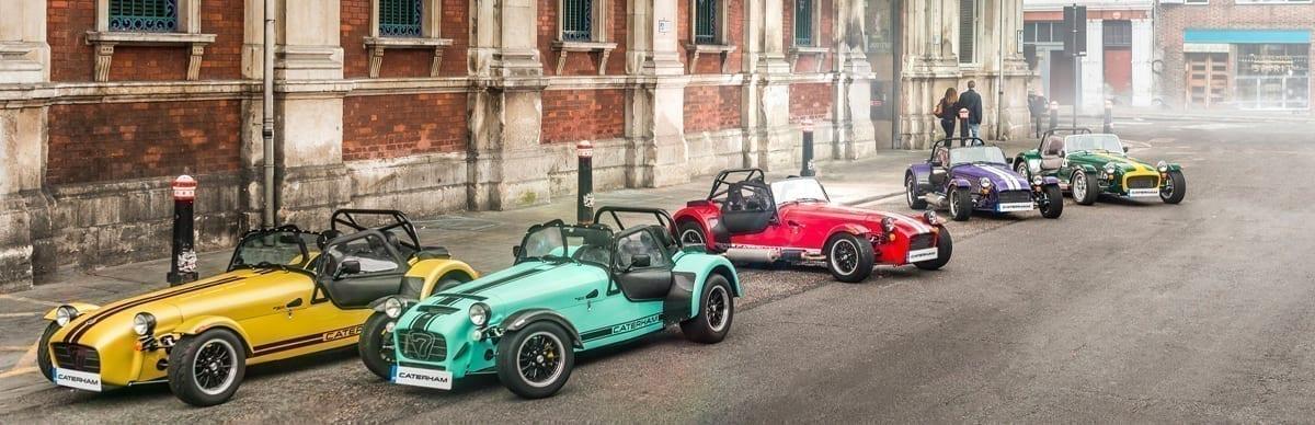 Melhores automóveis Caterham