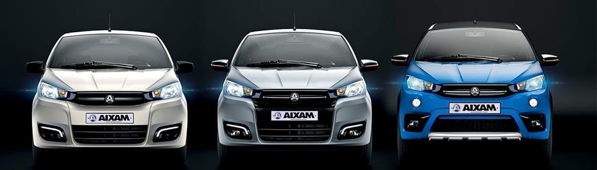 melhores automóveis Aixam