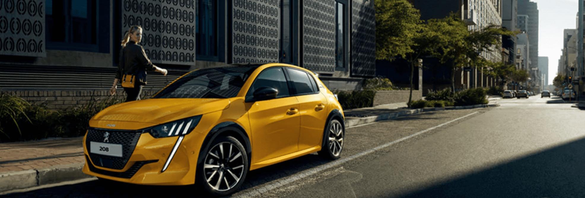 novos carros da Peugeot