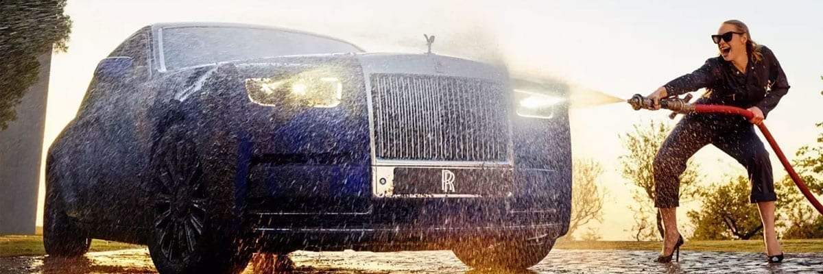 os melhores automóveis Rolls Royce