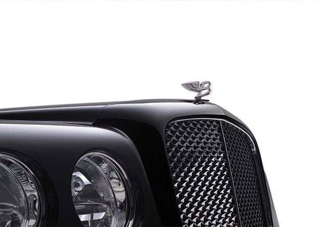 logótipo do Bentley Arnage