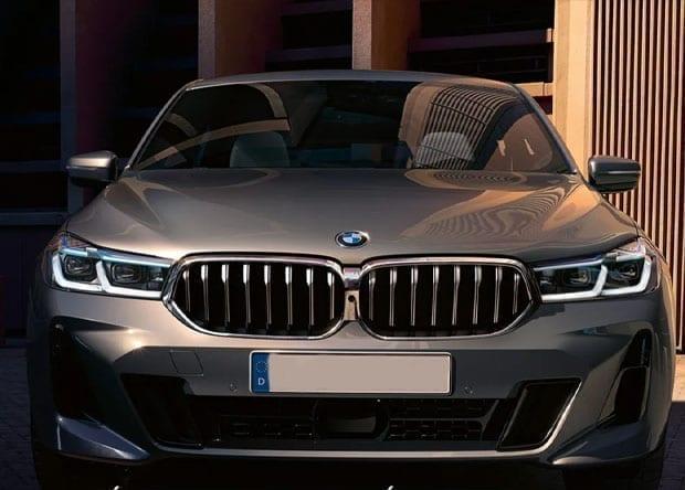 dianteira do BMW Série 6