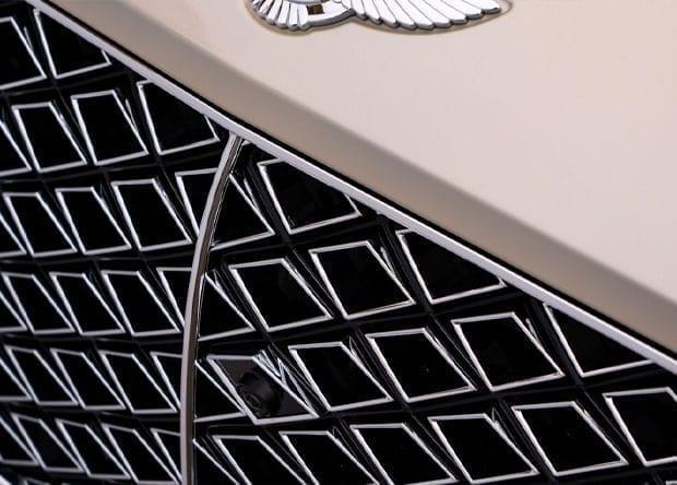 grelha do Bentley Continental