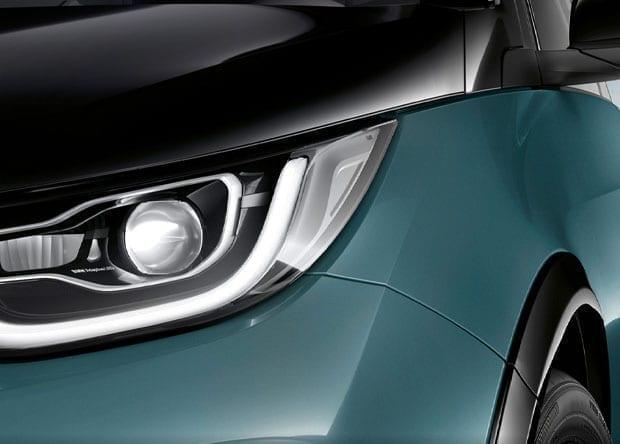 faróis BMW i3