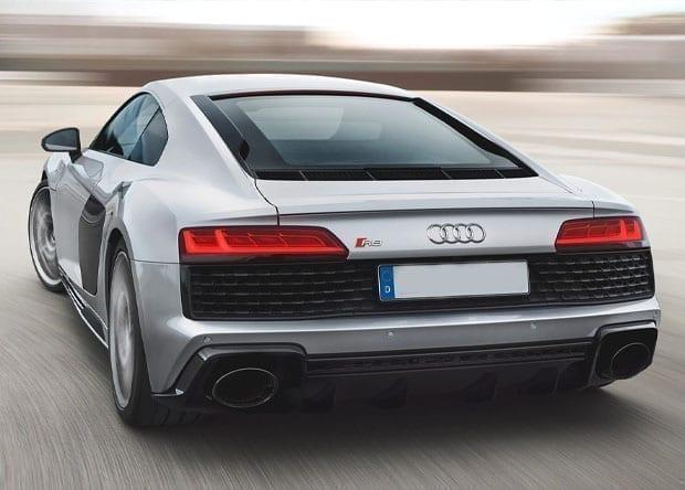 traseira do Audi R8