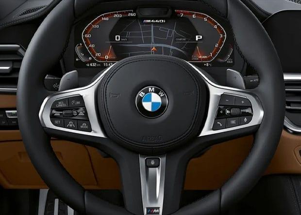 volante do BMW Série 4