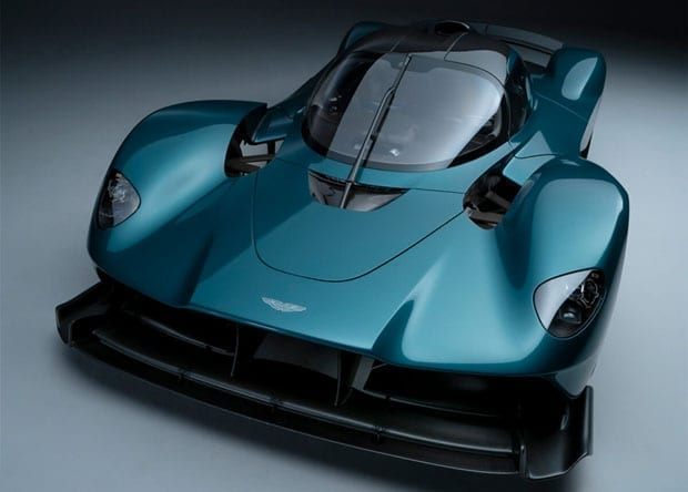 design do Aston Martin Valkyrie