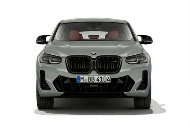 frente do BMW X4