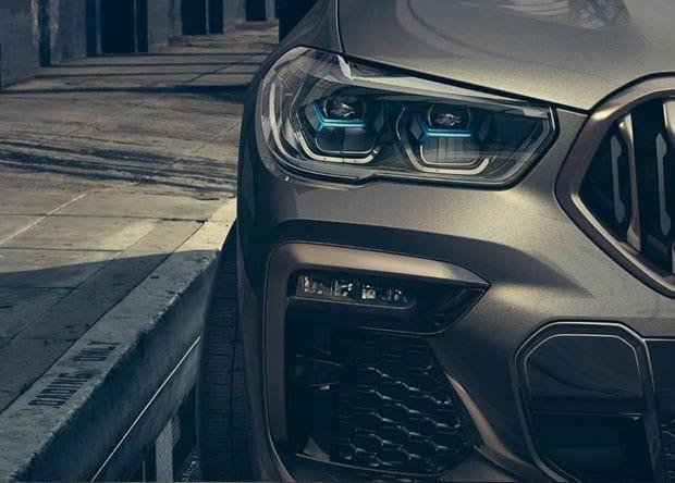 detalhe do BMW X6
