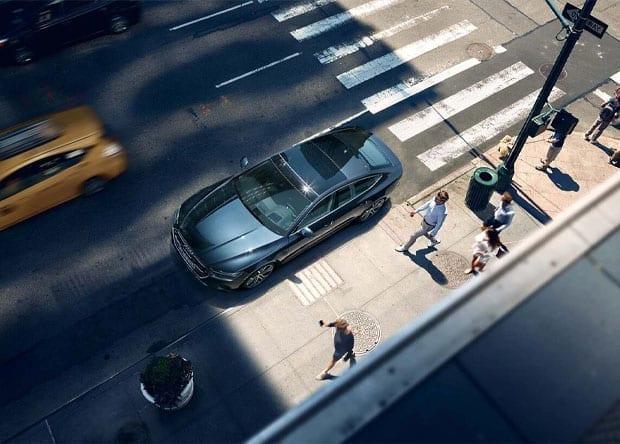carroçaria do Audi A7