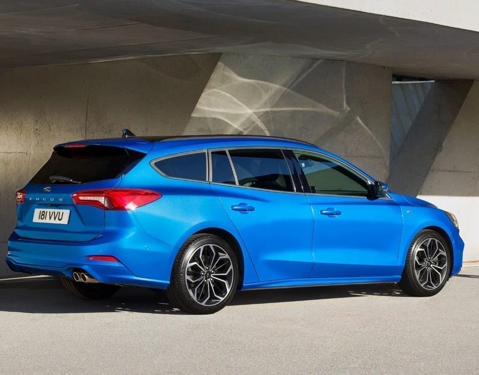 Ford Focus em azul