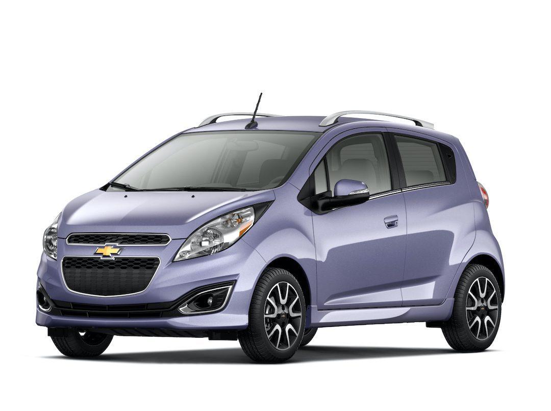 carroçaria do Chevrolet Spark