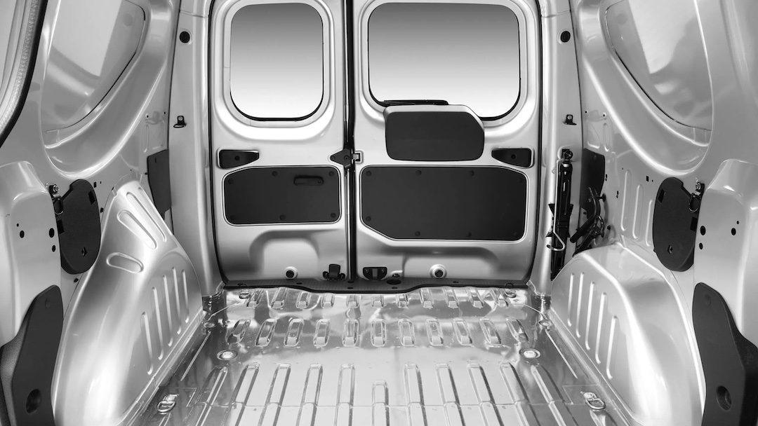 bagageira do Dacia Dokker