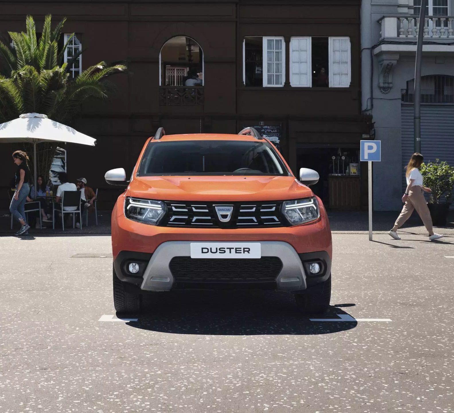 iluminação LED do Dacia Duster